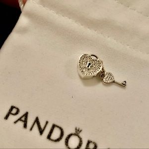 Lock of Love Pandora Charm